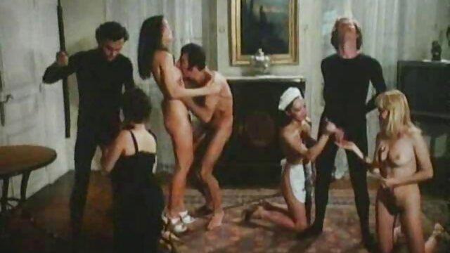 Shyla caliente en lencería sexy hace lapdance hetero con gay por dinero y se come a Serenas c